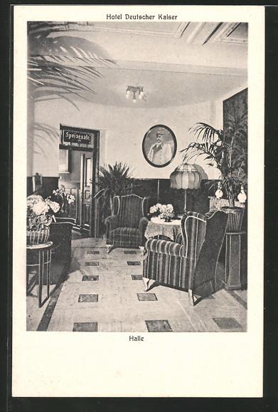 AK Berlin-Kreuzberg, Hotel Deutscher Kaiser, Königgrätzer Strasse 25/26, Ecke Dessauer Strasse
