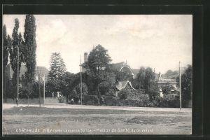 AK Prilly, le château, la maison de santé du Dr. Pinard