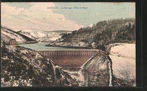 AK Cotatay, le barrage, effet de neige