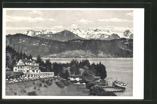 AK Seeburg, Strandhotel und Restaurant Hermitage