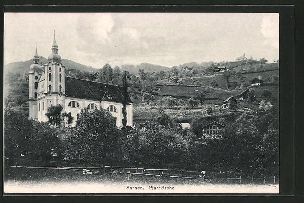 AK Sarnen, Pfarrkirche