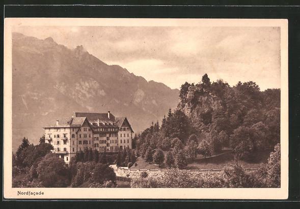 AK Kerns, Waldhotel Burgfluh