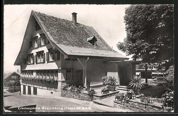 AK Mogelsberg, Ansicht vom Erholungsheim
