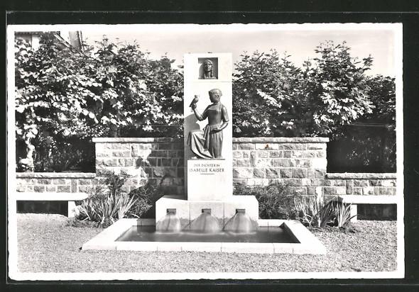 AK Beckenried, Isabella Kaiser-Denkmal