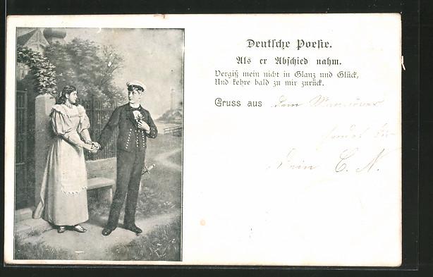 Datierung eines Mädchens in der Marine