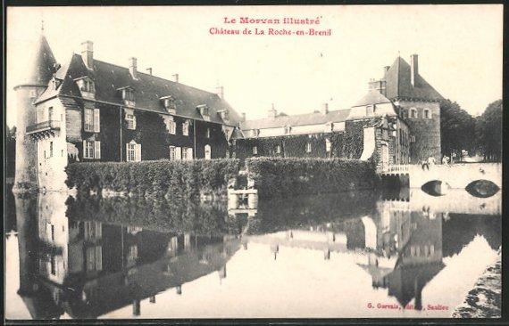 AK la Roche-en-Brenil, château