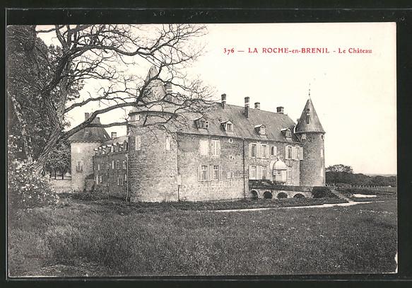 AK la Roche-en-Brenil, le château