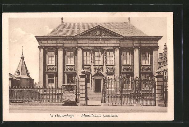 AK 's Gravenhage, Mauritshuis, Museum