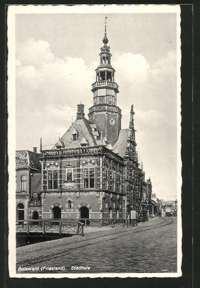 AK Bolsward, Stadhuis