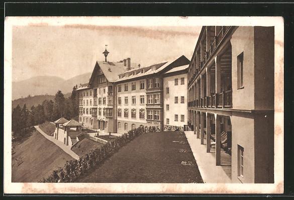 AK Puchberg am Schneeberg, Heilstätte Strengberg