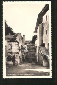 AK Rattenberg, Malerwinkel, Hausansicht