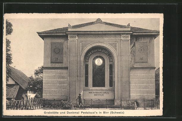 AK Birr, Grabstätte & Denkmal Pestalozzi's