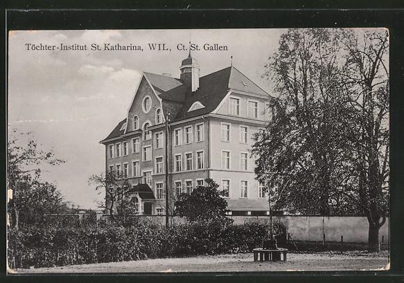 AK St. Gallen, Töchter-Institut St. Katharina