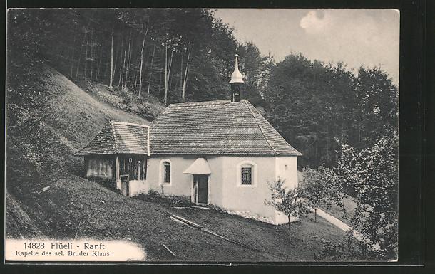 AK Flüeli-Ranft, Kapelle des sel. Bruder Klaus