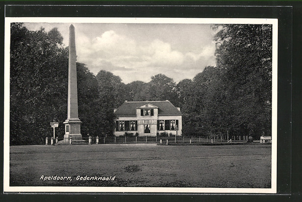 AK Apeldoorn, Gedenknaald, Denkmal