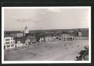 AK Holice, Námestí, Stadtplatz mit Rathaus
