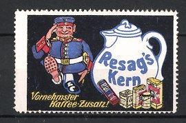 Reklamemarke Resag's Kern-Kaffee,
