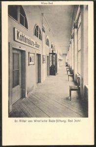 AK Bad Ischl, Wirer-Bad, Dr. Ritter von Wirer\'sche Bade-Stiftung
