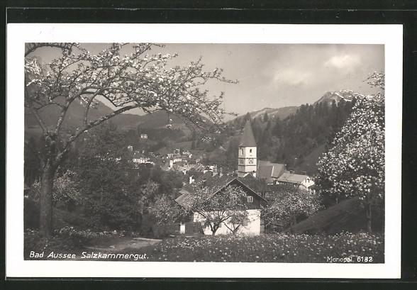 AK Bad Aussee, Ortsansicht
