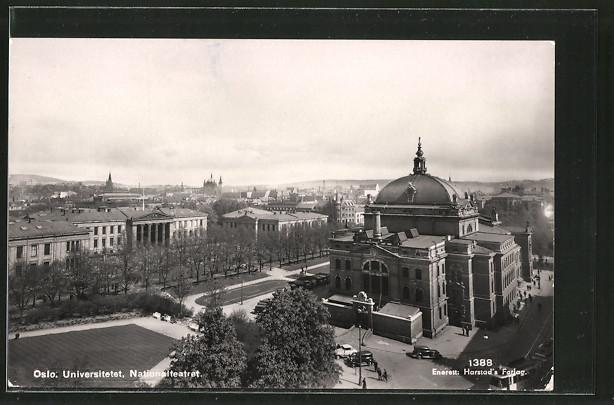 AK Oslo, Universitetet & Nationalteatret