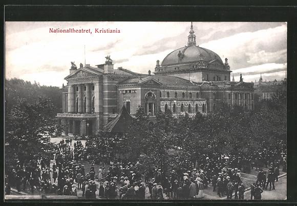 AK Oslo, Nationaltheatret