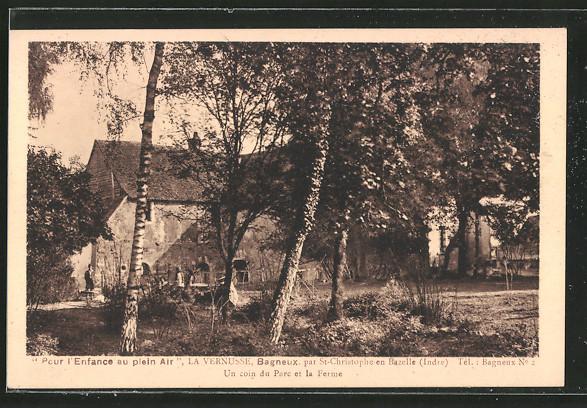 AK Bagneux, un coin du parc et la ferme