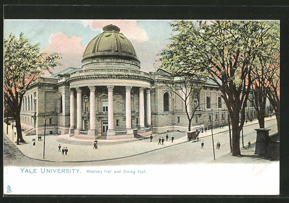 AK New Haven, CT, Yale University, Woolsey Hall and Dining Hall