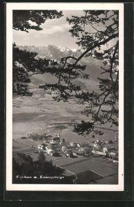 AK Walchsee, Ansicht mit Kaisergebirge