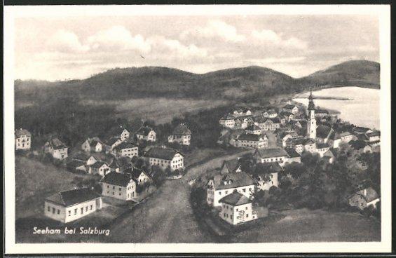 AK Seeham, Panoramaansicht