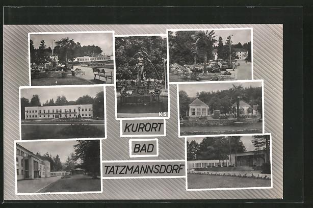 AK Bad Tatzmannsdorf, Aussenansichten des Kurhauses