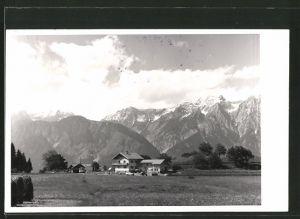 Foto-AK Tulfes, Pension Sonnenhof v. M. Woitsch
