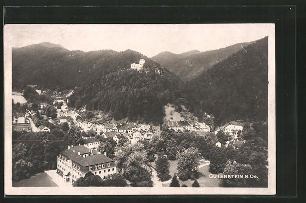 AK Gutenstein, Panoramaansicht