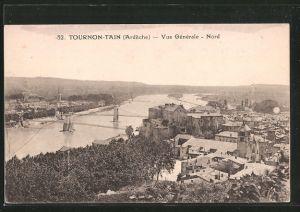 AK Tournon-Tain, vue générale