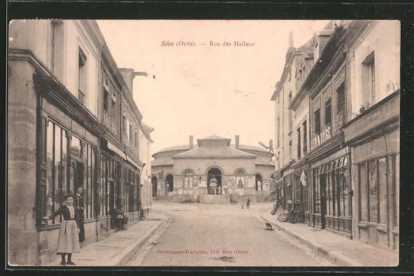 AK Sées, Rue des Halles