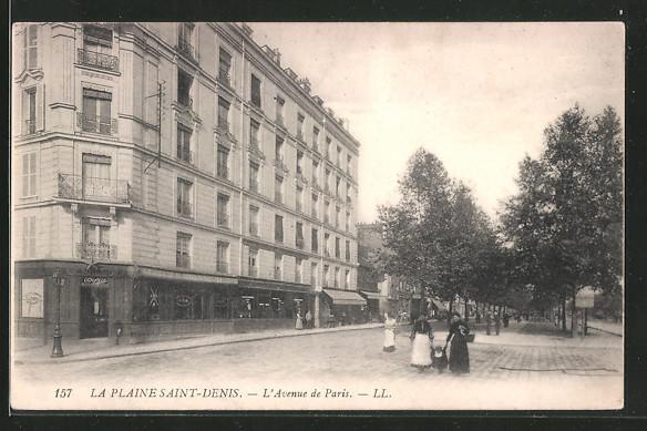 AK Saint Denis, L'Avenue de Paris