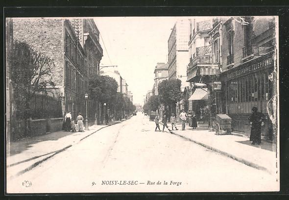 AK Noisy le Sec, Rue de la Forge