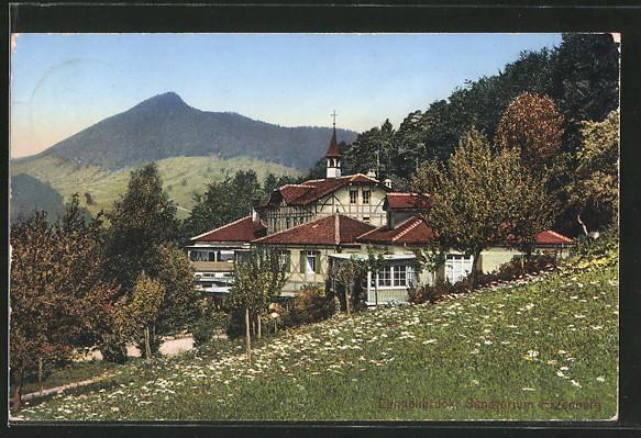 AK Langenbruck, Sanatorium Erzenberg
