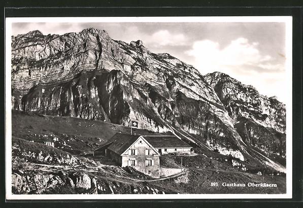AK Weesen, Gasthaus Oberkäsernalp
