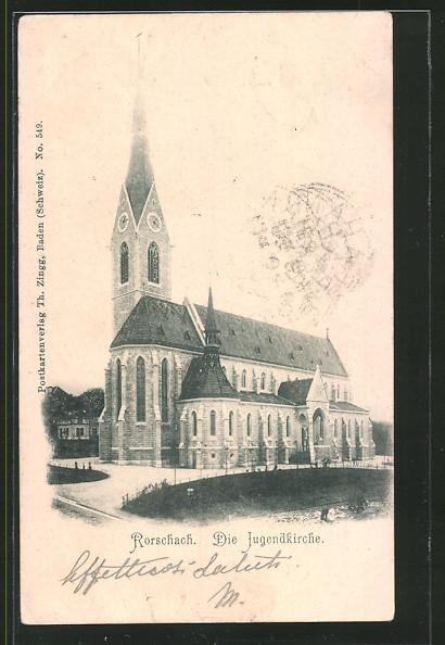 AK Rorschach, Die Jugendkirche
