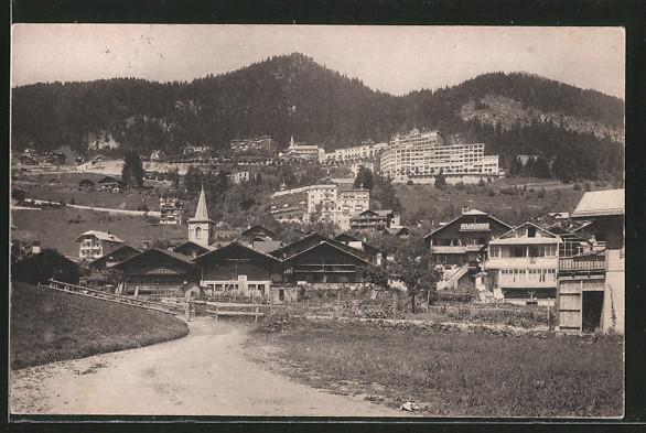 AK Leysin, Village et les hôtels