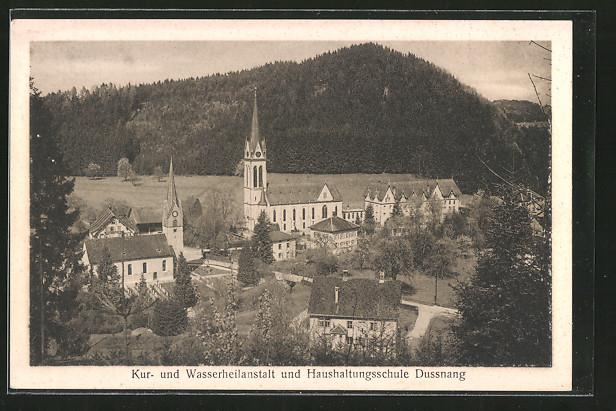 AK Dussnang, Kur- und Wasserheilastalt und Haushaltungsschule