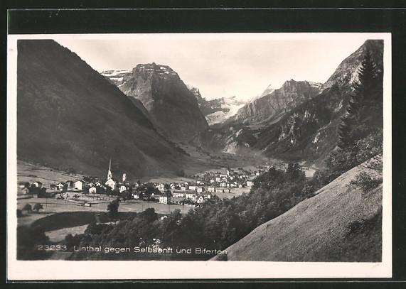 AK Linthal, Ort gegen Selbsanft und Biferten