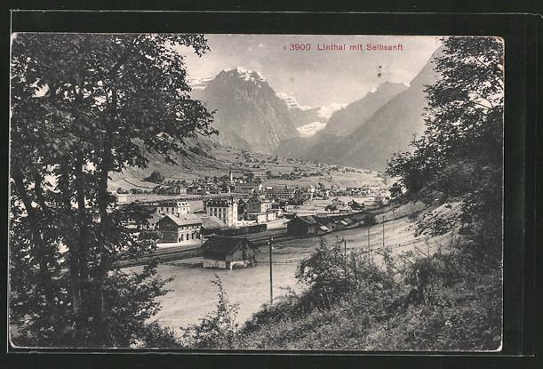 AK Linthal, Ortschaft mit Selbsanft