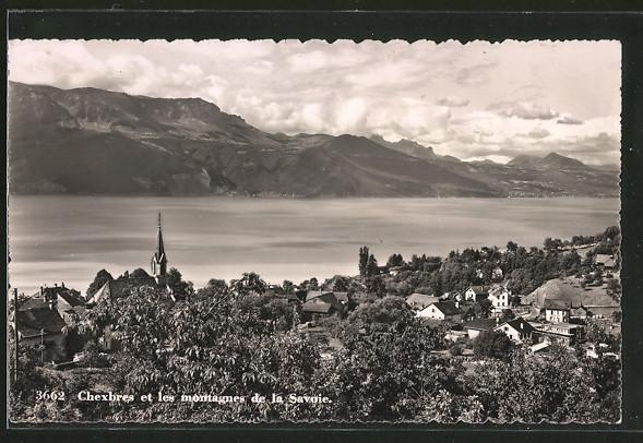 AK Chexbres, le village et les montagnes de la Savoie