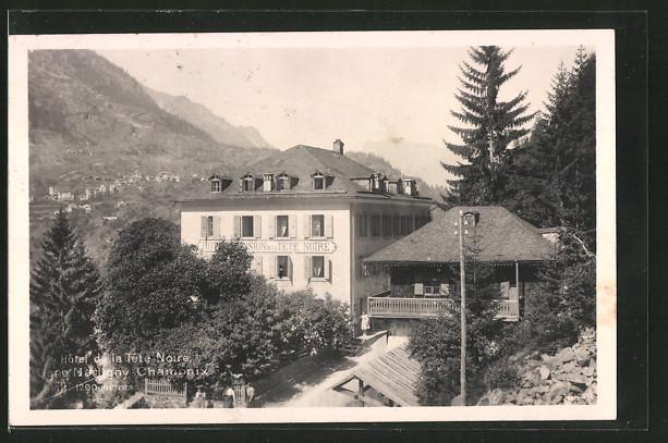 AK Martigny, Hotel de la Tête-Noire