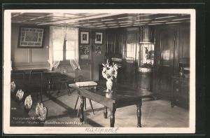 AK Küssnacht, Goethe-Stube im Gasthaus zum Engel