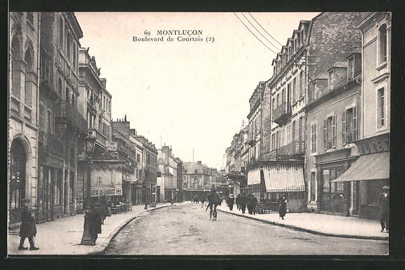 AK Montlucon, Boulevard de Courtais