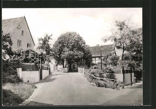 AK Schmannewitz, An der Dorfstrasse