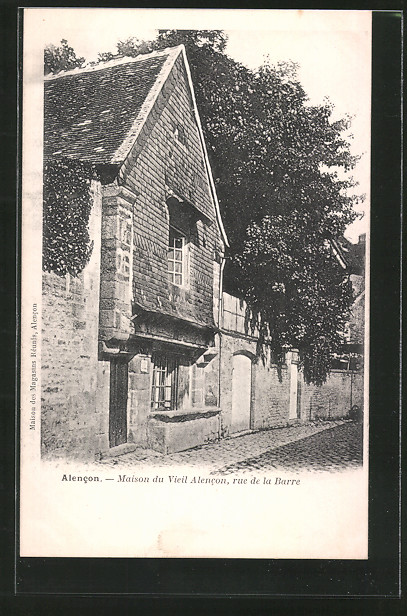 AK Alencon, maison du vieil Alencon, rue de la Barre
