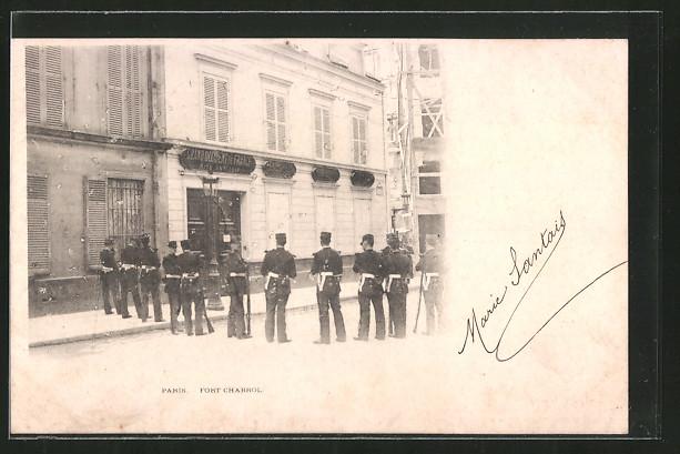 AK Paris, Belagerung Fort Chabrol durch den Antisemit Jules Guerin